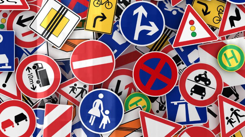 Дорожные знаки: как выучить по цвету и форме